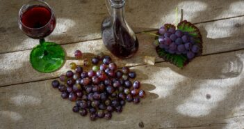 Karafa na víno